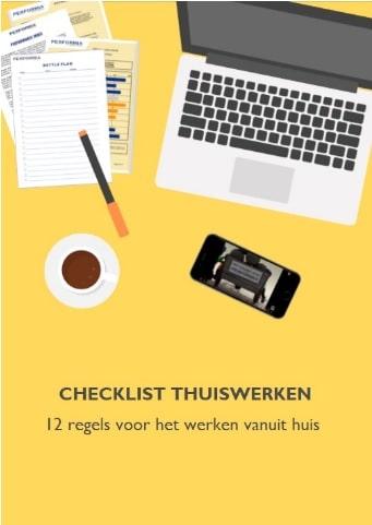 Checklist thuiswerken
